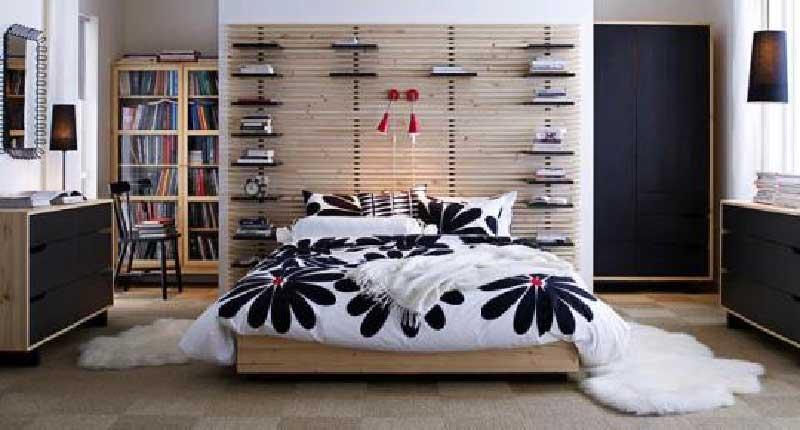 Beds - Ikea tete de lit bois ...